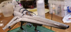 Building the BSG Viper MK VII